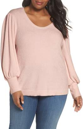 Sejour Puff Sleeve Sweater