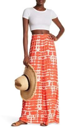 Loveappella Tie-Dye Maxi Skirt