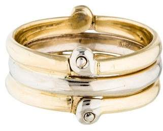 Ring 18K Two-Tone Convertible Kinetic