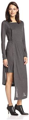 James & Erin Women's Layered Asymmetric Dress