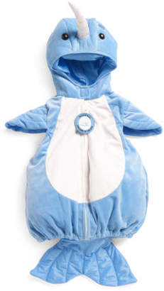 Baby Boy Narwhal Plush Bubble Costume