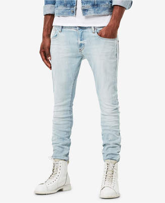G Star Men's Super-Slim Fit Stretch Deconstructed Jeans