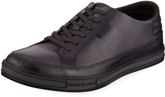 Kenneth Cole Men's Brand Prize Leather Sneakers