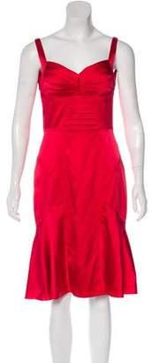 Zac Posen Silk Sleeveless Dress