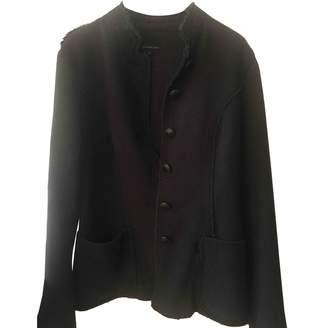 Calvin Klein Grey Wool Jacket for Women