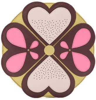 Sarah Chofakian Mandala leather clutch