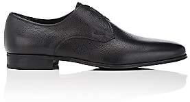 Salvatore Ferragamo Men's Fortunato Leather Bluchers-Black