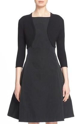 Women's Oscar De La Renta Cashmere & Silk Bolero $890 thestylecure.com