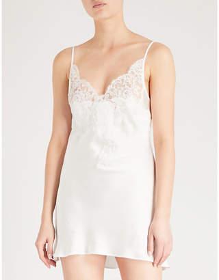 Marjolaine Egerie silk-satin slip dress