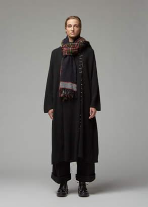 Yohji Yamamoto Blanket Tunic