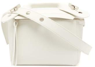 Sophie Hulme Bolt Small Leather Bag - Womens - White