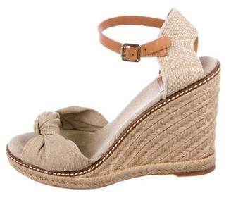 Tory Burch Canvas Espadrille Sandals