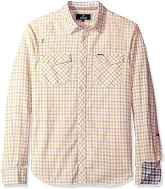 Buffalo David Bitton Men's Saconsta Long Sleeve Fashion Woven Shirt