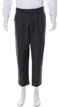 Kolor Wool Plaid Pants