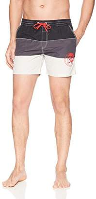 Diesel Men's Caybay Colorblock 16inch Swim Short