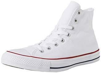 Converse Chuck Taylor All Star Hi-Top, Unisex Adults' Hi- Top Trainers, White(White Optical), (45 EU)