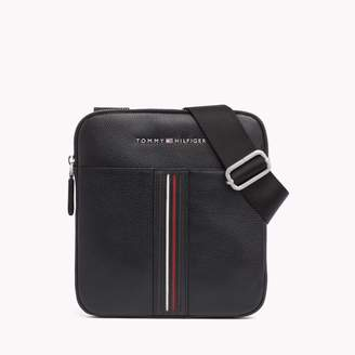 Tommy Hilfiger Leather Inlay Crossbody