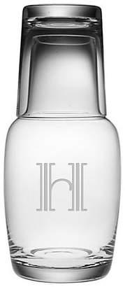 One Kings Lane Hudson Monogram Night Bottle Set - 32oz,