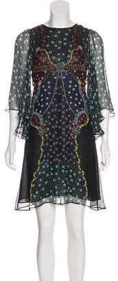Mary Katrantzou Silk Mini Dress