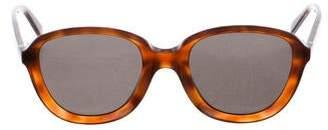 Celine Tortoiseshell Oversize Sunglasses w/ Tags