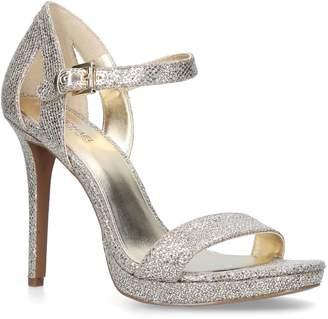 440b8a8f332a MICHAEL Michael Kors Silver Platform Shoes For Women - ShopStyle UK