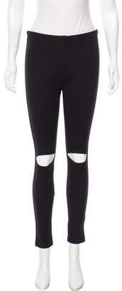 DREW Mid-Rise Cutout Leggings w/ Tags