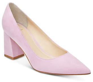 Marc Fisher Women's Zala Suede Block Heel Pumps