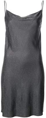 Fleur Du Mal short cowl-neck mini dress
