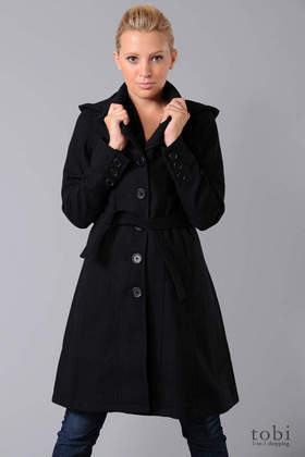 Spiewak Perrin Coat in Black