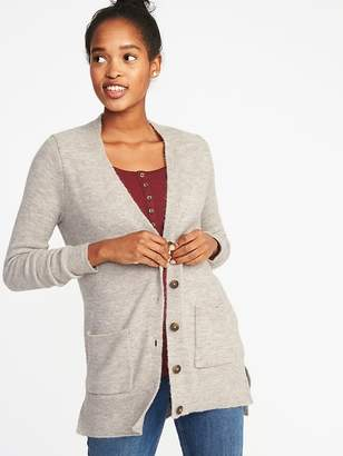 Old Navy Plush Sweater-Knit Boyfriend Cardi for Women