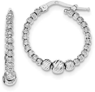 AR+ Sterling Silver Hoop Earrings - ICE CARATS ar Hoops Set Fine Jewelry Ideal Gifts For Women Gift Set From Heart