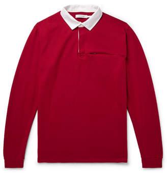 0644557f4a6 Nonnative Contrast-Trimmed Wool-Felt Rugby Shirt