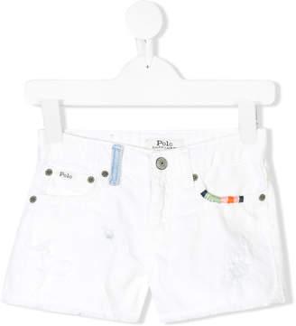 Ralph Lauren embroidered shorts