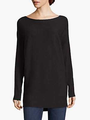 Betty Barclay Fine Ribbed Tunic Top, Black