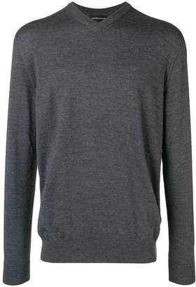 Emporio Armani v-neck pullover