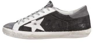 Golden Goose Denim Superstar Sneakers