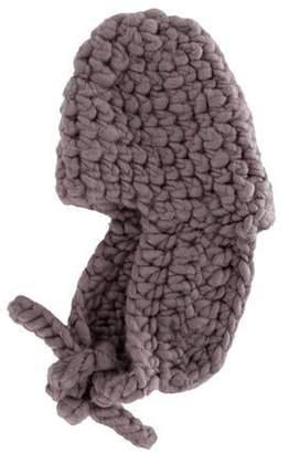 Mischa Lampert Wool Knit Trapper Hat