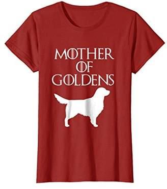 Golden Retriever Mother of Goldens | T-Shirt & Gift E010654