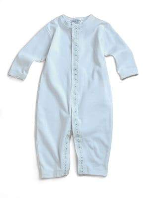 Baby Boy's Contrast-Trim Coverall