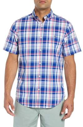 Vineyard Vines Classic Tucker Regular Fit Plaid Sport Shirt