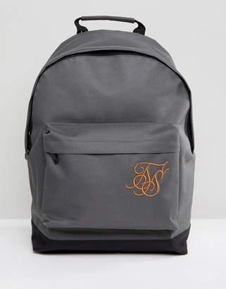 SikSilk backpack in gray