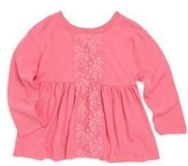 Splendid Toddler's Long-Sleeve Gathered Top