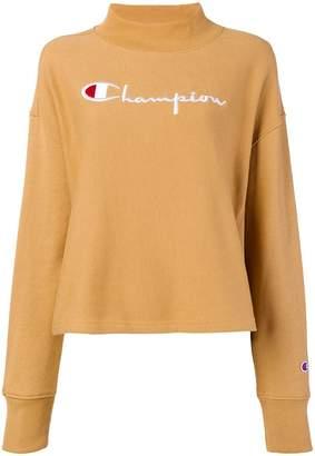 Champion embroidered mock neck sweatshirt