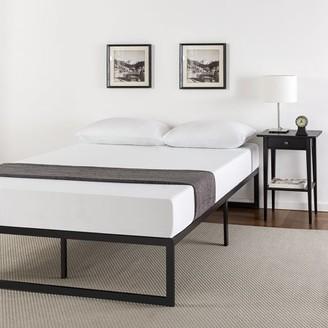 "Zinus Abel 14"" Metal Platform Bed Frame with Steel Slat Support, Twin"