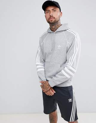 adidas Authentic Hoody In Grey Dh3852