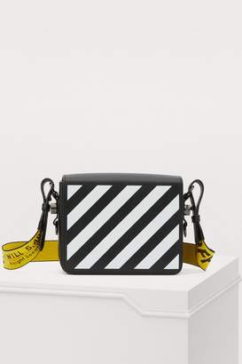Off-White Off White Binder Clip crossbody bag