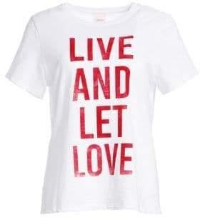 Cinq à Sept Live And Let Love T-Shirt