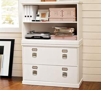 At Pottery Barn · Pottery Barn Bedford 2 Drawer Lateral File Cabinet