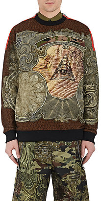 "Givenchy GIVENCHY MEN'S ""ILLUMINATI""-PRINT COTTON SWEATSHIRT $1,350 thestylecure.com"