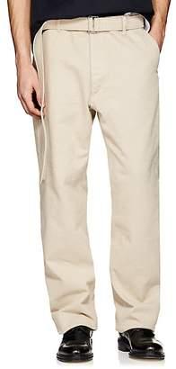 Ami Alexandre Mattiussi Men's Belted Wide-Leg Jeans